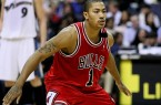 If Derrick Rose comes back healthy, the Bulls have a real chance to go to the NBA Finals. By Keith Allison from Owings Mills, USA, via Wikimedia Commons