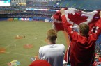 So I guess Canada has some baseball to root for, but there don't look like many people at the game in Toronto. By Oaktree b at en.wikipedia, from Wikimedia Commons