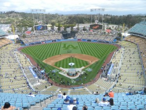 Everyone says the new scoreboards at Dodger Stadium are awesome.