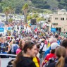 Thousands of people came to Avila Beach on Thursday, but not as many as organizers had planned for. By Owen Main