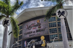 Will the American Airlines Area be hosting it's 4th NBA Finals in as many years? By Ines Hegedus-Garcia (Flickr: Miami Heat - The Finals) [CC-BY-2.0 (http://creativecommons.org/licenses/by/2.0)], via Wikimedia Commons