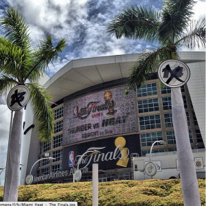 Will the American Airlines Area be hosting it's 4th NBA Finals in as