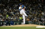 Hyun-Jin Ryu was a gamer on Monday night and kept the Dodgers in the series. By Owen Main