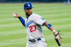 "Hopefully Matt Kemp can stay healthy in 2014. By SD Dirk on Flickr (Originally posted to Flickr as ""Matt Kemp"") [CC-BY-2.0 (http://creativecommons.org/licenses/by/2.0)], via Wikimedia Commons"