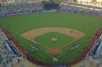 Dodger Stadium was beautiful on Monday night. By Owen Main