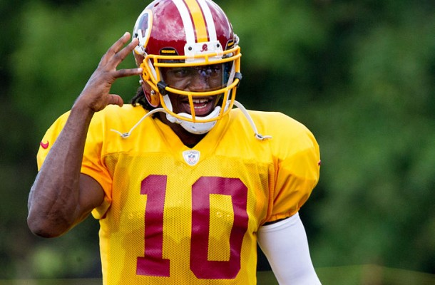 Robert Griffin III has just not looked right this season. By Keith Allison (Flickr: Robert Griffin III) via Wikimedia Commons