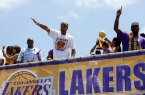 The Lakers and their fans are hoping to see another  title parade soon after a few hard seasons.