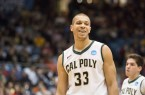 Chris Eversley was Cal Poly's best player over the past two seasons. By Owen Main