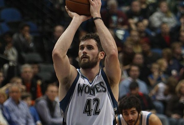The promise of Andrew Wiggins needs to be weighed against the known star power of Kevin Love as the Cavs and Timberwolves remain in discussions. By TonyTheTiger - Own work, via Wikimedia Commons