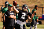 Junior quarterback, Dano Graves got a chance in the fourth quarter on Thursday night. Does Cal Poly have a quarterback carousel on their hands already? By Owen Main