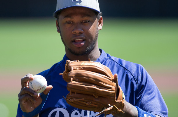 A healthy Hanley Ramirez will be a big key to the Dodgers' postseason chances. By Keith Allison on Flickr, via Wikimedia Commons