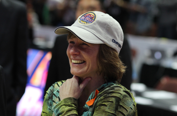Over the past six years, Faith Mimnaugh has had the best run of her nearly 20 years as Cal Poly's head coach. By Owen Main
