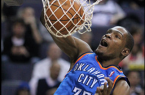 Will this be the year Kevin Durant leads the Thunder to a title? By Keith Allison from Owings Mills, USA (Kevin Durant) [CC-BY-SA-2.0 (http://creativecommons.org/licenses/by-sa/2.0)], via Wikimedia Commons
