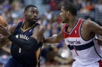 Tyreke Evans and the Pelicans will surprise people this coming NBA season. By Keith Allison (Flickr: Tyreke Evans, Trevor Ariza) [CC-BY-SA-2.0 (http://creativecommons.org/licenses/by-sa/2.0)], via Wikimedia Commons