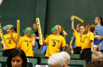 Over 2,000 fans showed-up to Mott Athletics Center on Saturday afternoon. By Owen Main