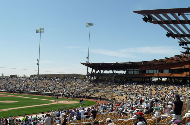 The Dodgers will be at their spring home in less than six weeks. By Nicopanico, via Wikimedia Commons