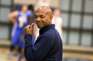 Mission Prep head coach Terrance Harris had his team ready to play at home on Wednesday. They will hit the road this weekend. By Owen Main