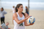 Aside from the dominance of the visiting team, Cal Poly's inaugural home sand volleyball weekend was about as good as any fan could ask for. By Owen Main