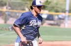 Nick Torres is working hard this spring to make an impression on Padres management. By Owen Main