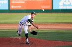 It's possible that this Friday is the last time fans will see Casey Bloomquist pitch for Cal Poly at Baggett Stadium. By Owen Main