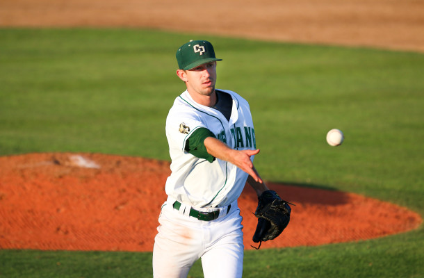 Casey Bloomquist finished his 2015 home season on a high note on Friday night. By Owen Main