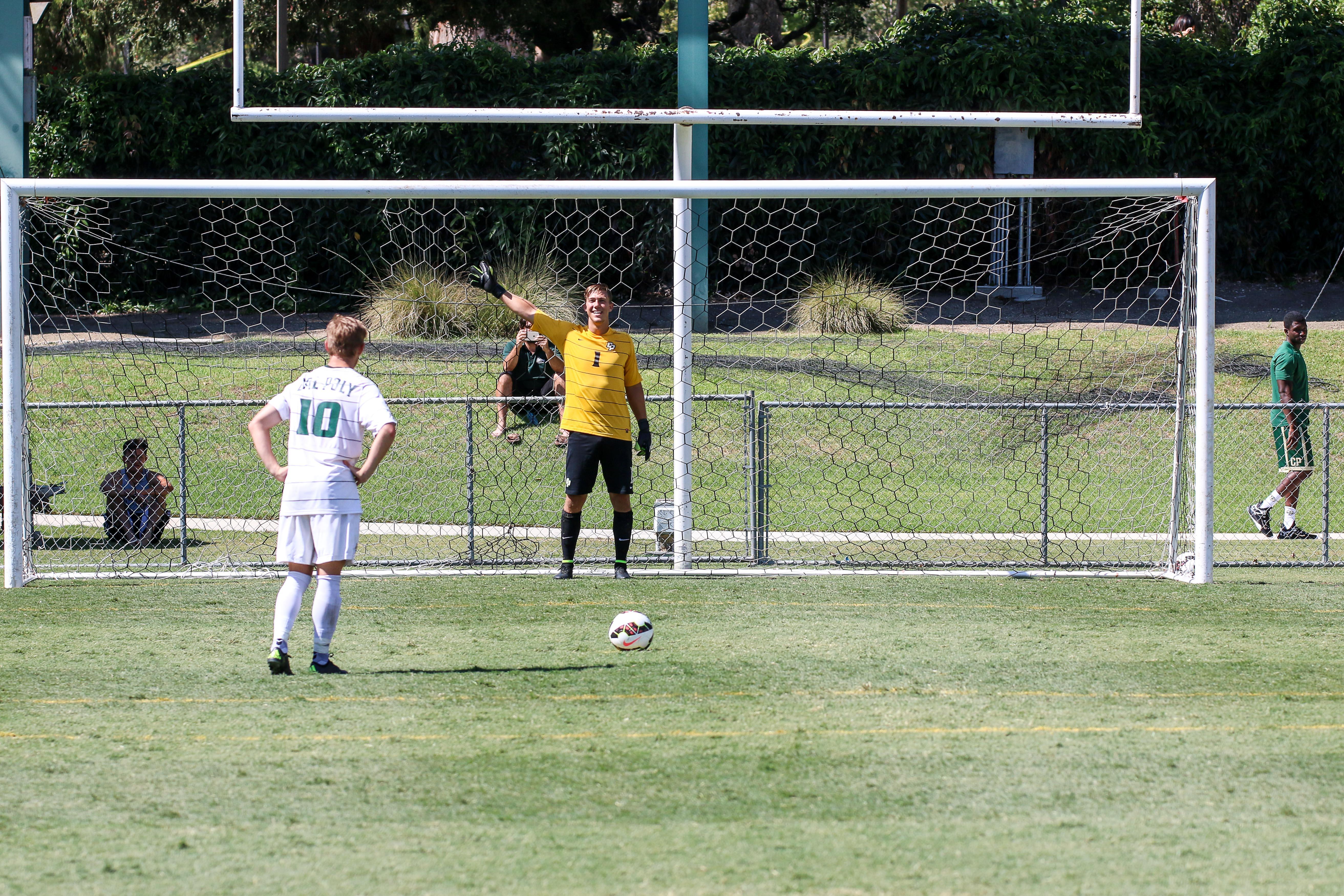 Photos: Cal Poly Men's Soccer Scrimmage - Fansmanship