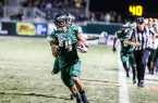 Kyle Lewis has proven to be a big-play threat on the edge for Cal Poly's triple option offense. By Owen Main