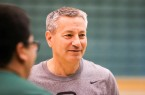 Joe Callero is entering his sixth season as Cal Poly men's basketball coach. This year's team will almost definitely have the highest expectation of any of Callero's teams thus far. By Owen Main