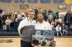Terrance Harris (right) has won over 200 games at Mission Prep. By Owen Main
