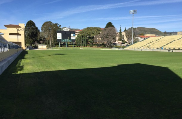 It was 70-plus degrees at Alex G. Spanos Stadium on NLI day.