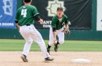 Cal Poly and second baseman Dylan Doherty turned three double plays on Saturday afternoon. By Owen Main