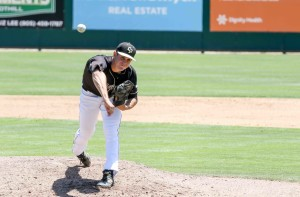 Justin Calomeni was really good in a spot start on Sunday. By Owen Main