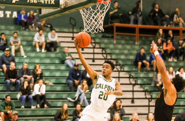 Victor Joseph had his best game yet in a Cal Poly uniform. By Owen Main